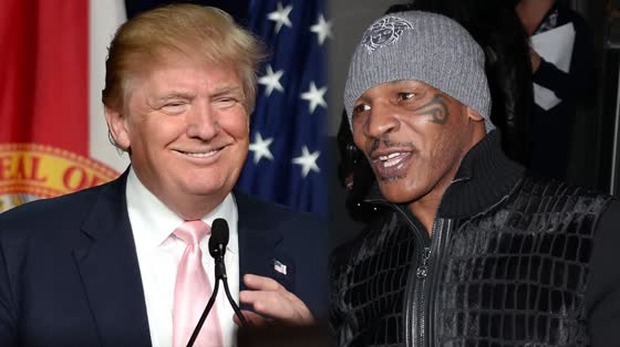 Trump and Mike Tyson