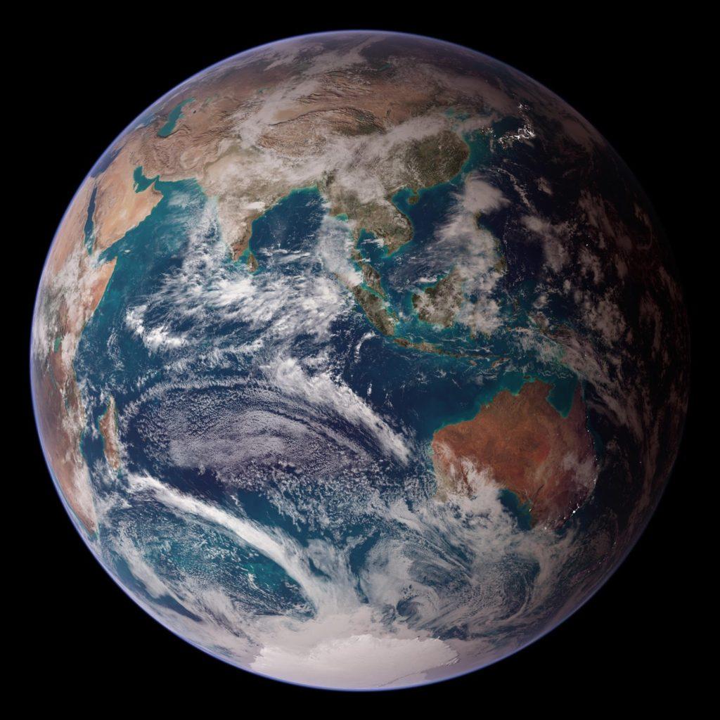 Earth, Eastern Hemisphere