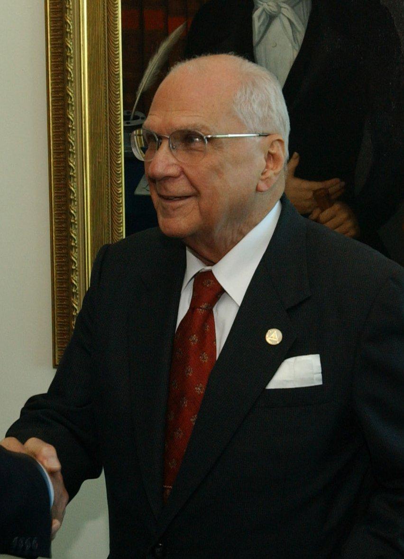 Enrique Bolanos, former President of Nicaragua