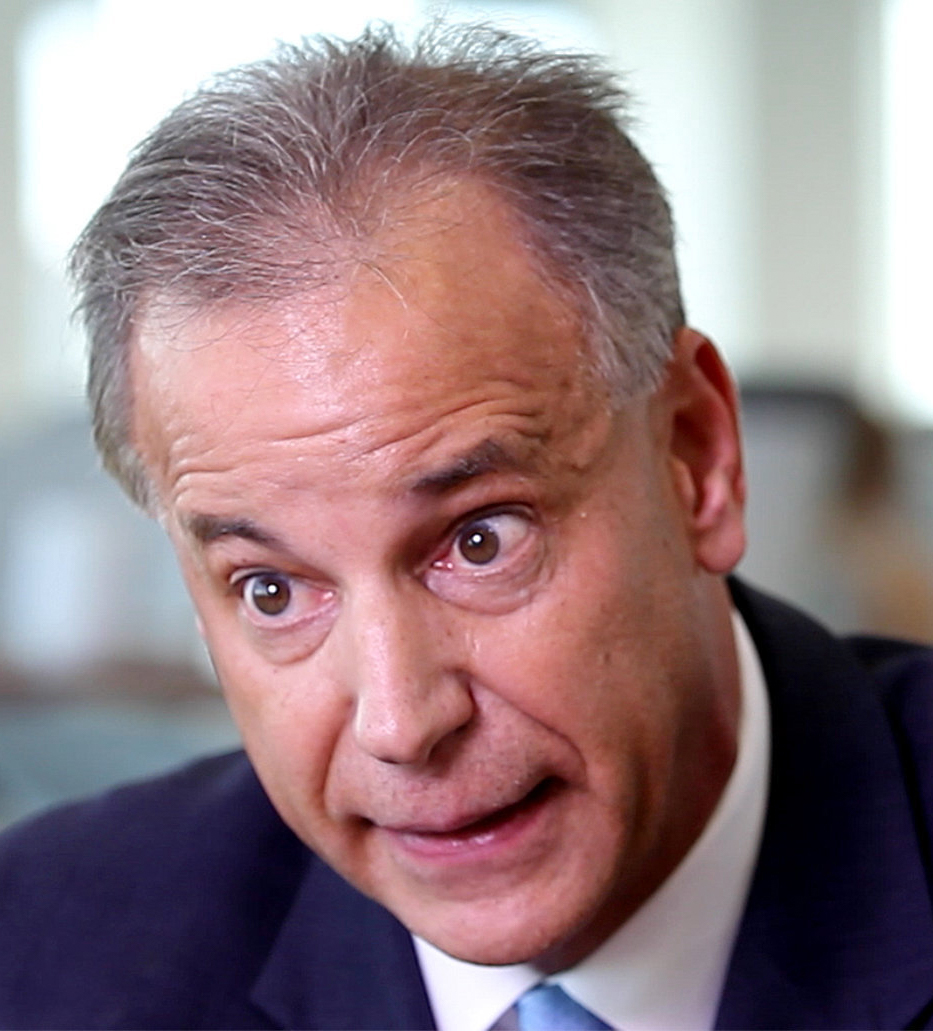 Picture of Scott Angelle, with cross eyes and looking kind of like an idiot.