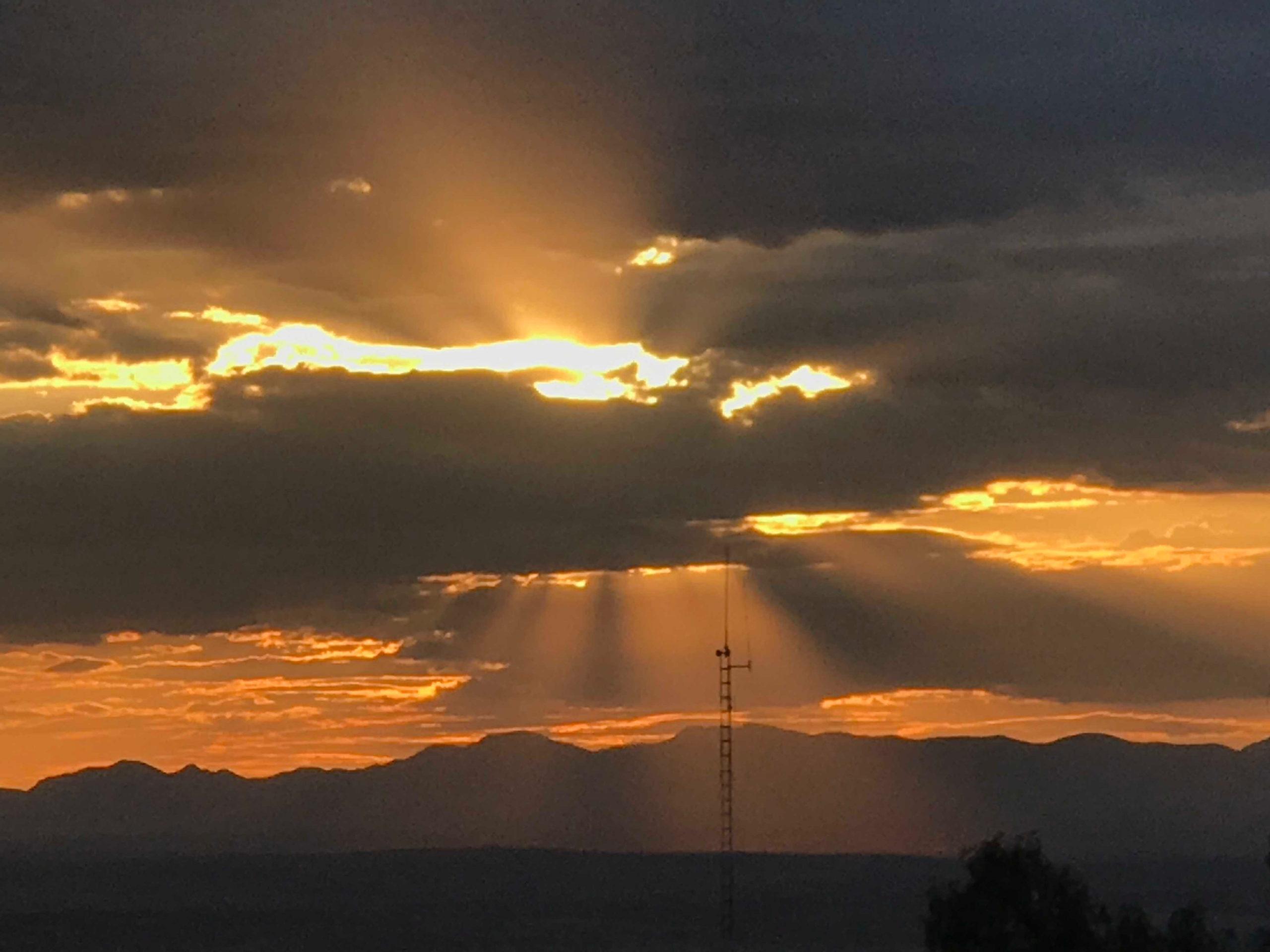 Sunset over San Miguel de Allende